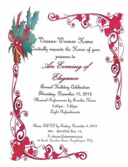 An Evening of Elegance invitation