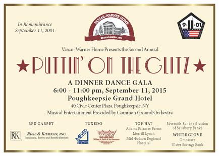 Puttin on the Glitz-A Dinner Dance Gala banner