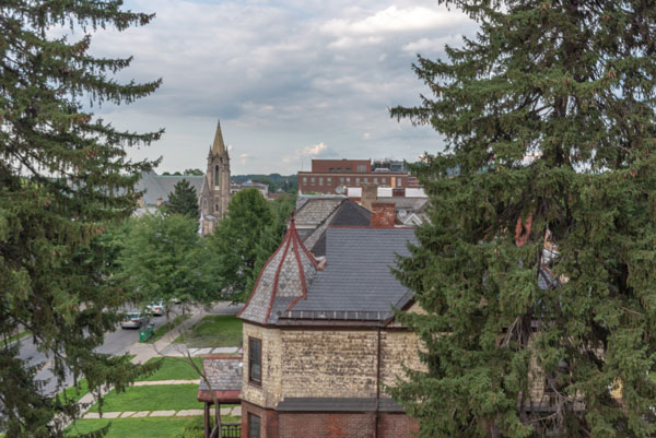 View from Vassar Warner Home