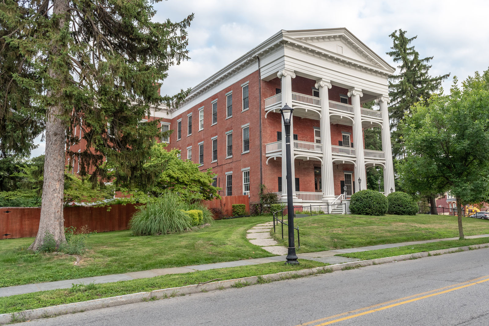 View of Vassar-Warner Home