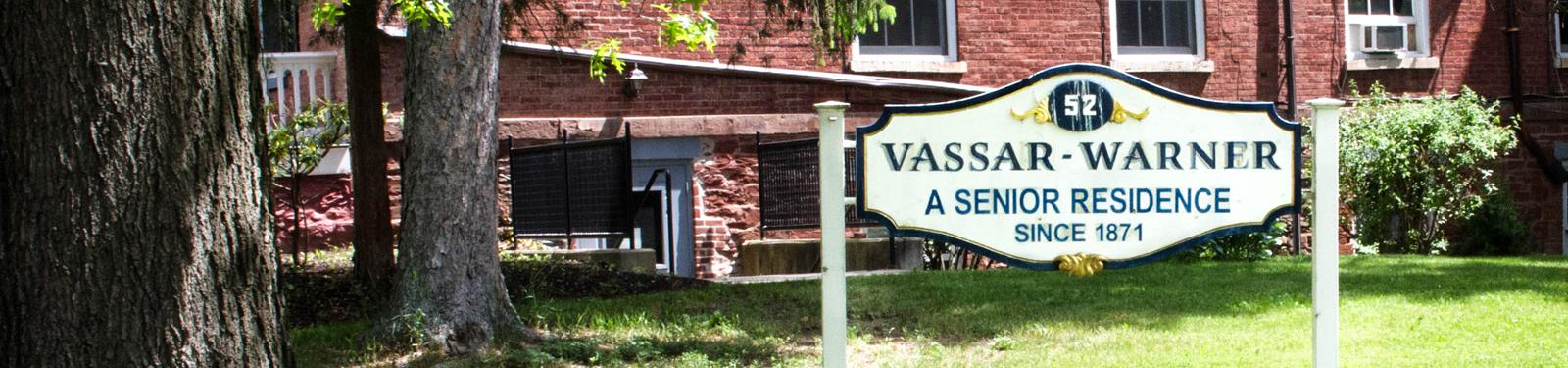 Vassar-Warner home, a senior residence since 1871